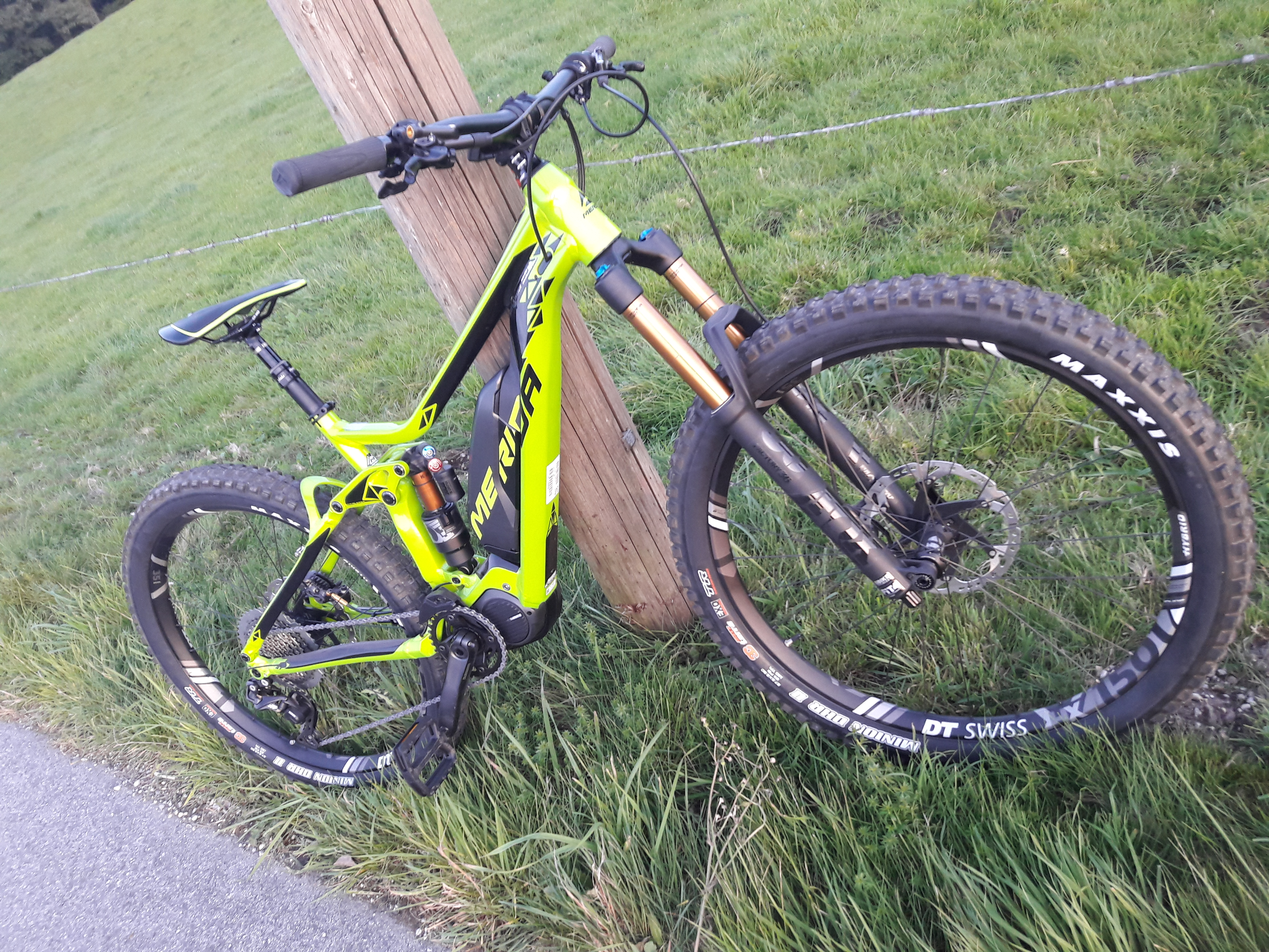 Faszination E-Bike Blog Merida oONESIXTY900e E-MTB Fully Enduro MTB
