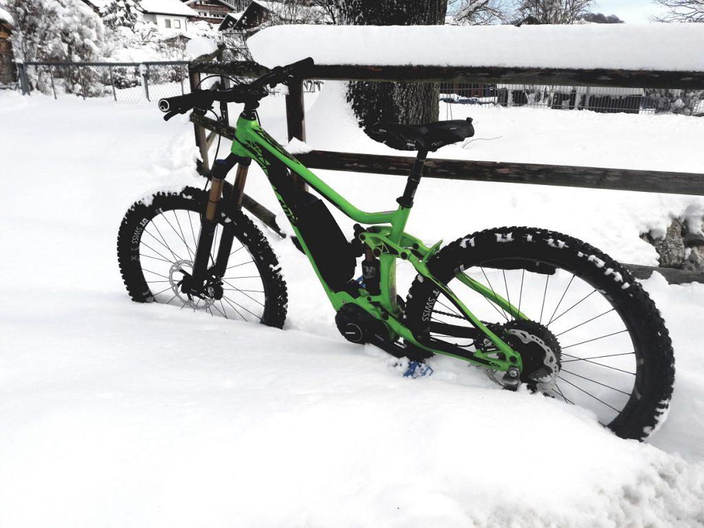 E-Biken im Winter