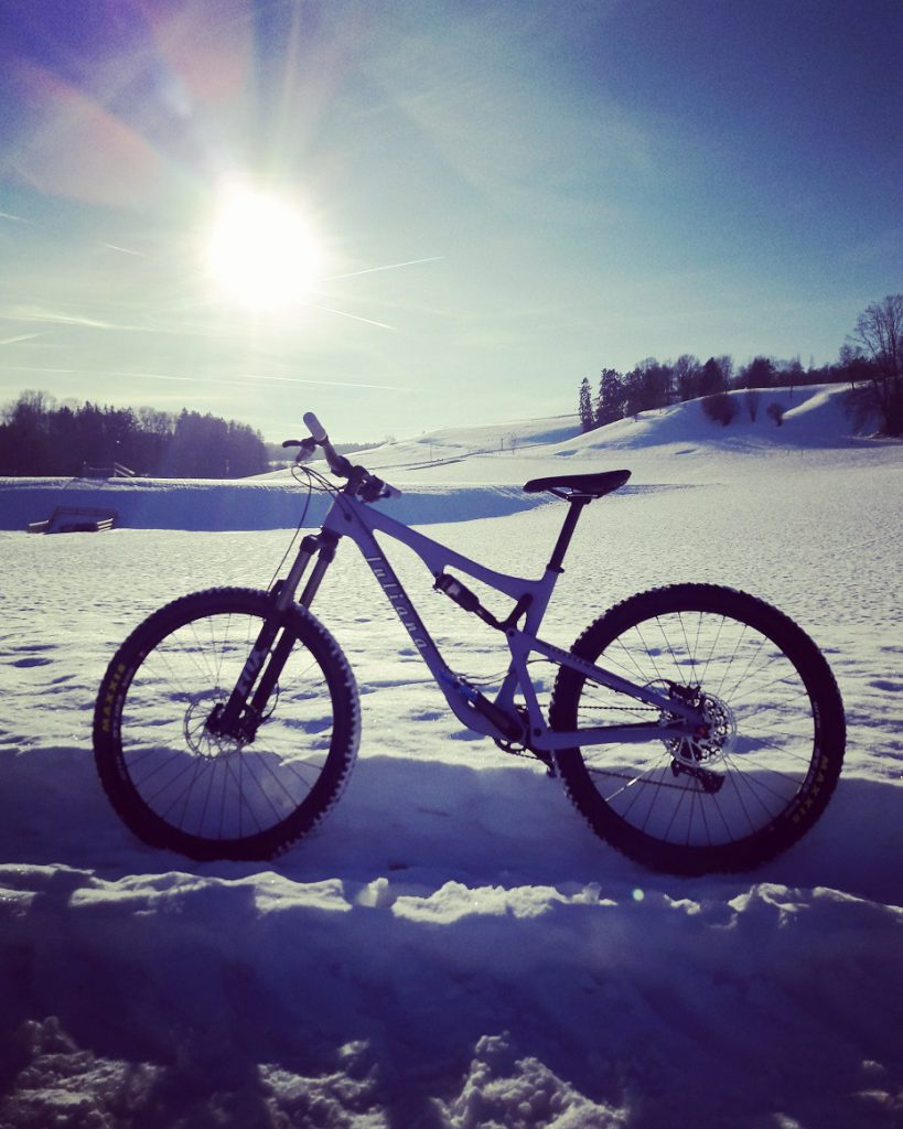 Faszination E-Bike Blog - Juliana Roubion Schnee