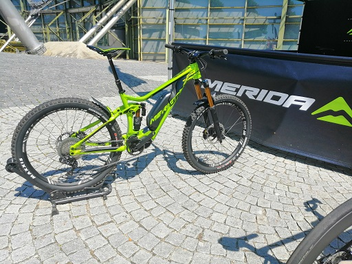 Faszination E-Bike Blog - Merida eONESIXTY900e