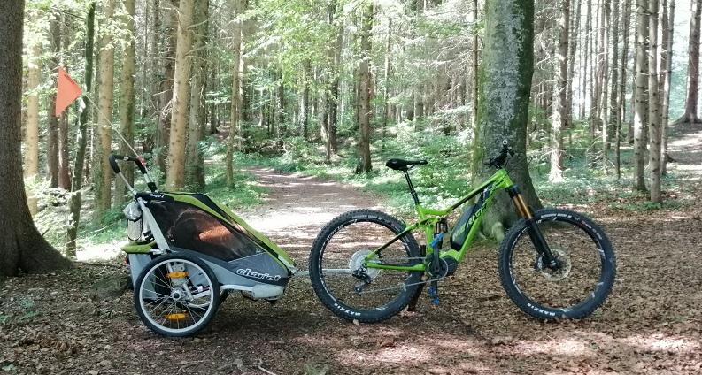 Faszination E-Bike Blog - E-MTB und Fahrradanhänger Thule