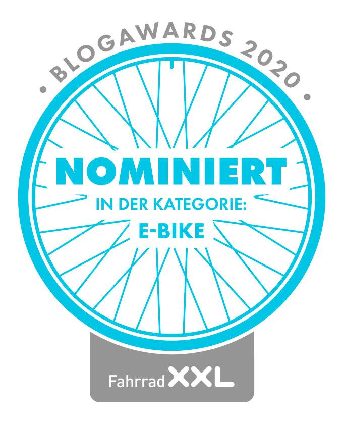 Faszination E-Bike Fahrrad XXL Blog Awards 2020